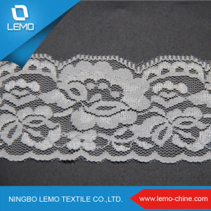 Thin and Light Elastic Tricot Lace pictures & photos