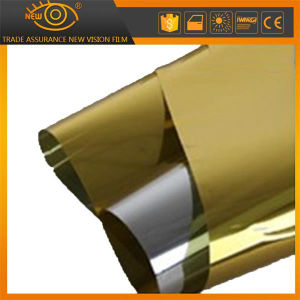 2 Ply Gold Reflective Solar Control Building Window Tint Solar Film pictures & photos
