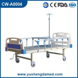 Hospital Manual Patient Bed Cw-A0004 pictures & photos