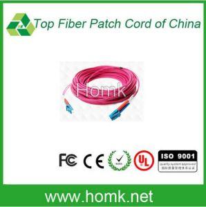 LC Om4 Duplex Fiber Optic Pigtail 0.9mm pictures & photos