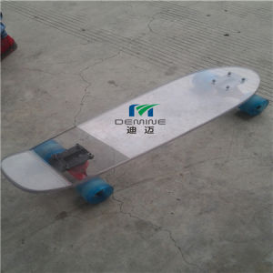 Custom 12mm Polycarbonate Bending Sheet for Skateboard