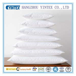 China Supplier Standard Siliconized Polyester Fiber Pillow pictures & photos