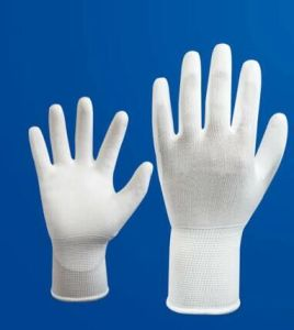 ESD Garment PU Coating Gloves Anti-Static PU Coated Gloves, Palm Fit Gloves pictures & photos
