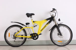 Chinese CE Fat MTB Tire Electric Bicycle with Light Frame pictures & photos