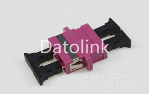 Violet mm Duplex Sc Adapter with Flange pictures & photos
