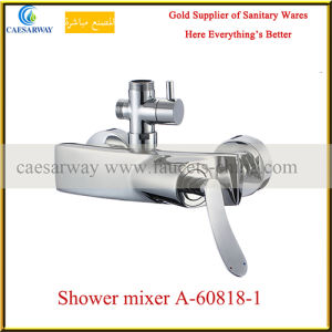 Single Lever Bathtub Faucets with Shattaf for Bathroom pictures & photos