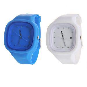 Customized Cheap Fashion Promotion Silicone Quartz Wrist Watch pictures & photos