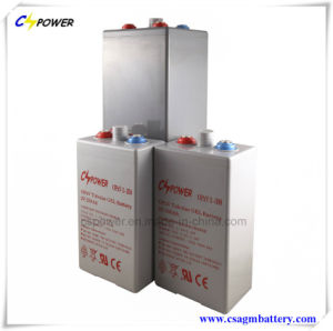 Opzv Gel and Tubular Battery 2V2500ah for Solar Power Opzv2-2500 pictures & photos