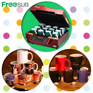 Freesub Sublimation Coffee Mug Printing Heat Transfer (ST-3042) pictures & photos
