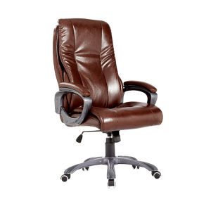 European Swivel Executive Chair Classic Upholstered Leather Office Furniture (Fs-8712) pictures & photos