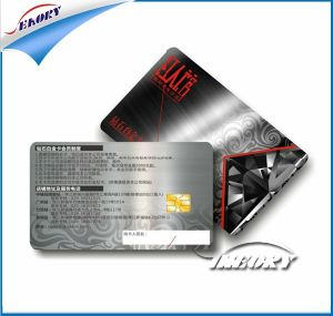 Sle5542 Sle5528 Chip Contact IC Card Smart Card with PVC Material pictures & photos