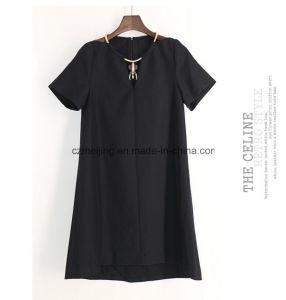 One Color Silk Women Skirt