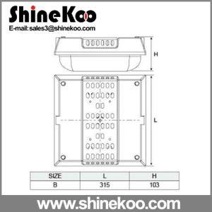 Big Square PC Cover LED Ceiling Lights Housing (SUN-PCS-10) pictures & photos