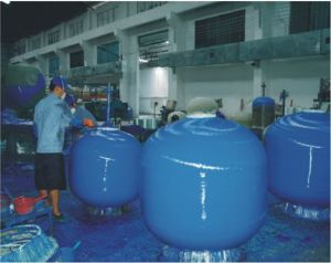 Acrylic-Fiberglass Swimming Pool Sand Filter pictures & photos