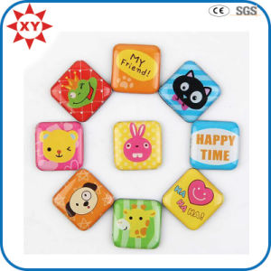 Custom Square Shape Printing Waterproof Fridge Magnet pictures & photos