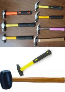 French Type Electrician Hammer with Wooden Handle pictures & photos