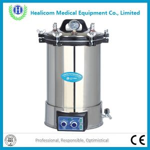 Portable Pressure Steam Autoclave Sterilizer (YX-280D/D Deepened) pictures & photos