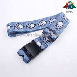 Top Quality Customized Sublimation Luggage Straps pictures & photos