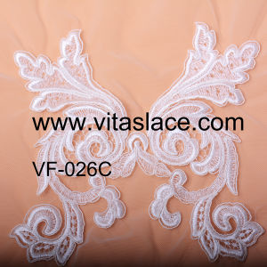 19cm Width Lace Appliques Manufacture for Wedding Dress Vf-026c pictures & photos