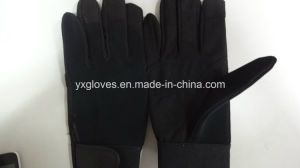 Synthetic Leather Glove-Mechanic Glove-Weight Lifting Glove-Work Glove-Safety Glove pictures & photos