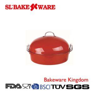 Roaster Pan W/Rack Carbon Steel Nonstick Bakeware (SL-Bakeware)