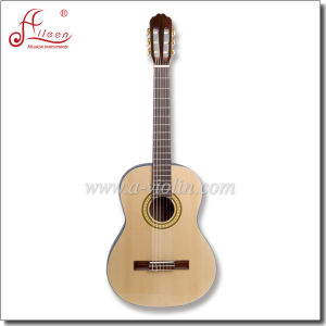 "39"" Wholesale Spruce Plywood Sapeli Nato Neck Classic Guitar (AC70) pictures & photos"
