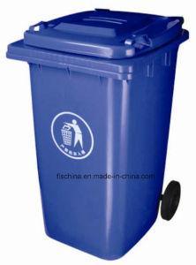 Eco-Friendly 240L Plastic Rubbish Bin (FLS-240L/HDPE/EN840) pictures & photos