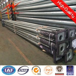 30m (98FT) Steel Transmission Line Electrical Power Poles pictures & photos
