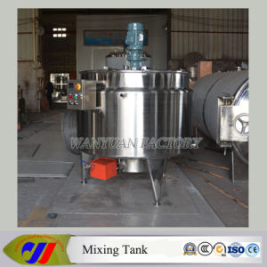 1t Gas Heating Double-Layer Mixing Vessel pictures & photos