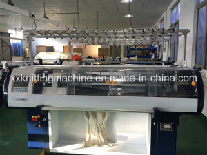 Automatic Textile Knitting Machine for Vamp pictures & photos