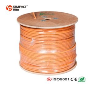 RoHS, CE Approved Lszh CAT6 LAN Cable pictures & photos
