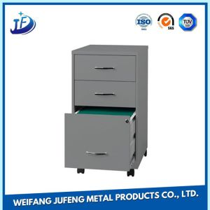 OEM Sheet Metal Stamping Filing Handles Shelf Support Fabrication Parts pictures & photos