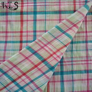 100% Cotton Seersucker Woven Y/D Fabric for Clothing Shirts/Dress Rls50-22se pictures & photos