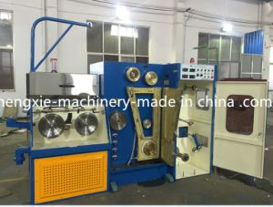 Hxe-14dt Copper Wire Drawing Machine with Online Annealer pictures & photos