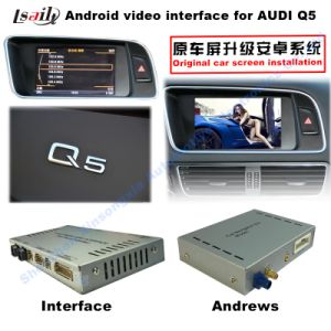 Car Upgrade Multimedia HD Android Interface GPS Navigation for Q5 Support DVD/TV/Mirrorlink pictures & photos