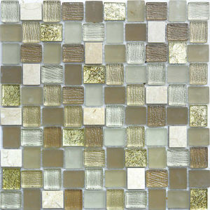 House Building Material Wall and Floor Tile Glass Mosaic pictures & photos