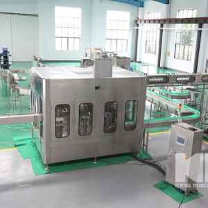 Stowing Juice Beverage Pet Bottle Filling Machinery pictures & photos