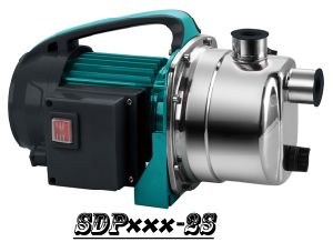 (SDP600-2S) Rain Barrel Garden Water Pump with Stainless Steel Head