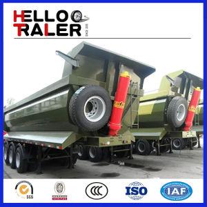 3 Axle 60 Ton Rear Dump Tipping Trailer pictures & photos