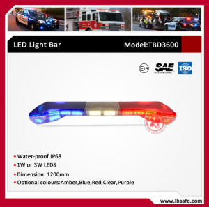 U Shape PC LED Warning Light Bar (TBD3600) pictures & photos