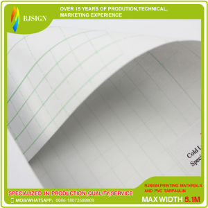 0.06mm Glossy Transparent PVC Cold Lamination Film pictures & photos