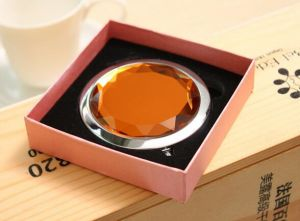 Promotion Gift Crystal Mirror Foldable Cosmetic Mirror pictures & photos