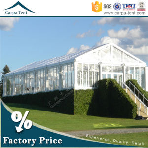 12m Width Fabric Covered Buildings Decorative Transparent Marquee Party Event Tents pictures & photos