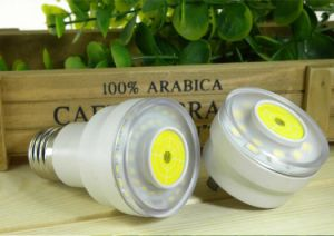 3/5/7W Wall Plug LED Bulb E12/14/27 Lamp Holder Motion Sensing Night Light pictures & photos