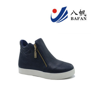 2016 Newest Women′s Canvas Shoes (BFJ-4193) pictures & photos