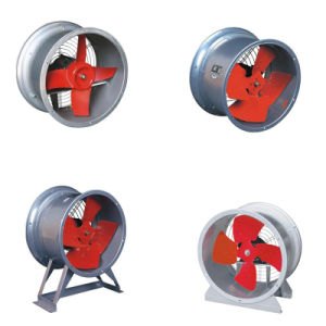 Low Noise Industrial Bracket Duct Exhaust Axial Blower Fan pictures & photos