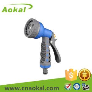 Cleaning Watering High Pressure 8-Pattern Metal Water Spray Gun pictures & photos