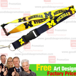 2.5cm Promotional Lanyard with Logo Printing pictures & photos