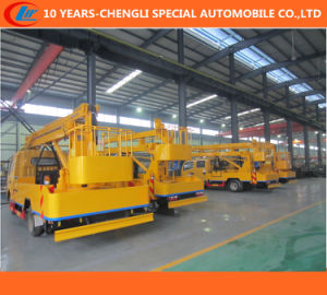 16m Aerial Work Platform Truck, Tail-Lift Truck, Overhead Working Truck pictures & photos