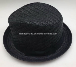 New Model 2016 Spring Fedora Paper Straw Hats (CPA_60240) pictures & photos